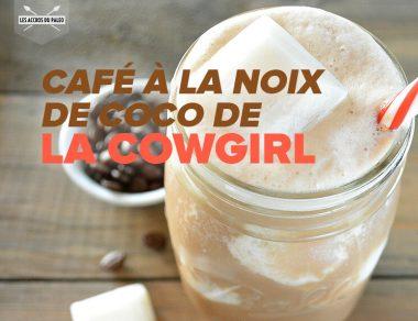 Café à la noix de coco de la Cowgirl