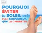 Pourquoi éviter le soleil est aussi dangereux que la cigarette