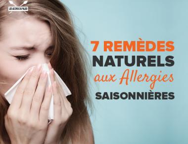 7 remèdes naturels aux allergies saisonnières