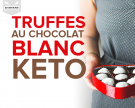 Truffes blanches keto