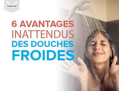 6 avantages inattendus des douches froides