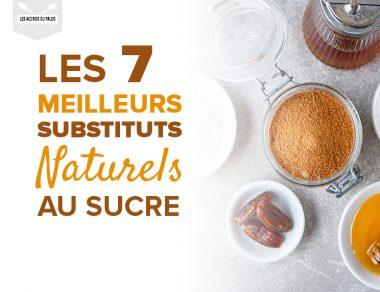 Les 7 meilleurs substituts naturels au sucre