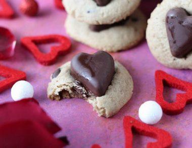 Recette facile de cœurs au chocolat et au beurre de cacao