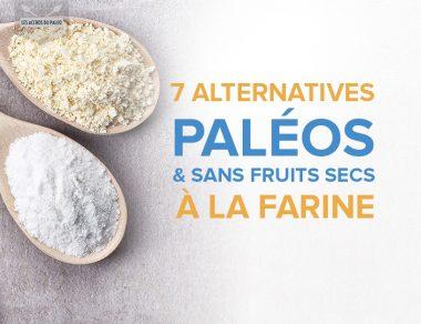 7 alternatives paléo et sans noix à la farine