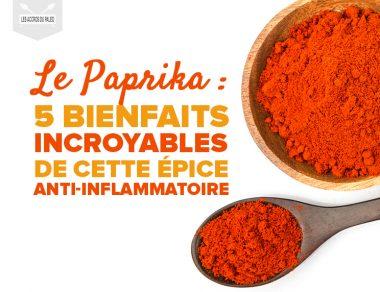 Paprika : les 5 bienfaits incroyables de cette épice anti-inflammatoire